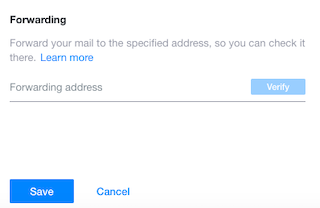 Setup Automatic Email Forwarding in Yahoo Mail