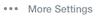 Yahoo more settings icon