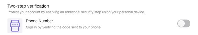 Yahoo mail 2-Factor Authentication