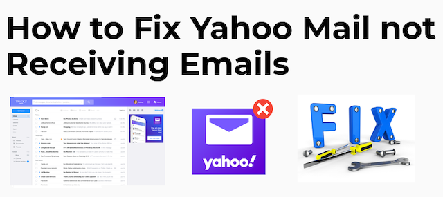 Yahoo Mail Not Receiving Email Messages